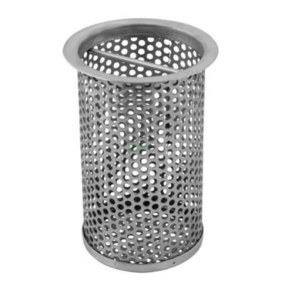 Removable Strainer Basket 100mm Suit FW Floor Wastes 316 Stainless FW-BASKET-100