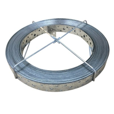 Hoop Iron Galvanised 25mm X 30m X 0.6mm