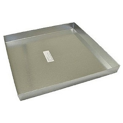 Galv Hot Water Service Tray 500 X 500 X 50mm