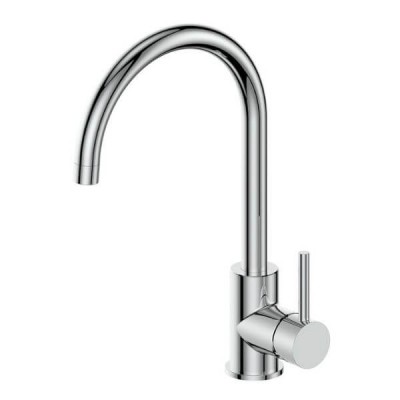 Greens Zeon Gooseneck Sink Mixer 4 Star 6.5 L/Min 13424301