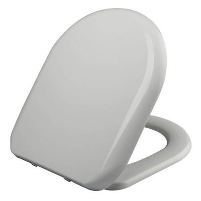 Haron Florenze Toilet Seat White Slow Close Quick Release Hinges TS-1800