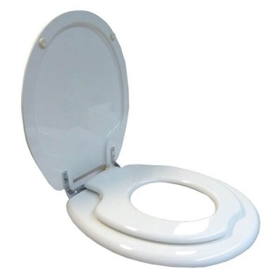 Haron TS-8400FS Magnetic Child Training Toilet Seat With Chrome Bottom Fix Hinges