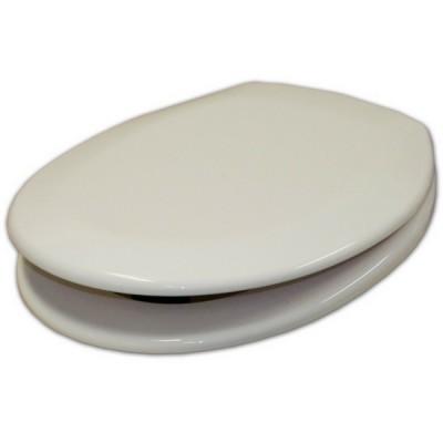 Haron Montesa Toilet Seat Stainless Hinge White TS1200