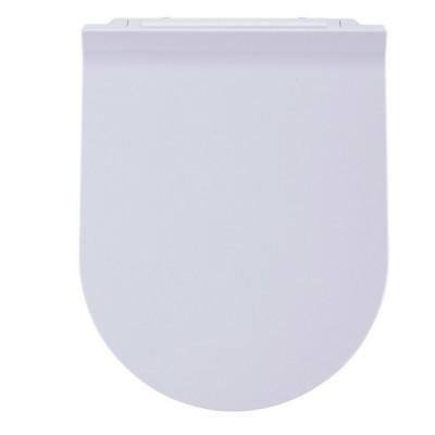 Haron Slimline D Shape Toilet Seat Slow Close White TS2500