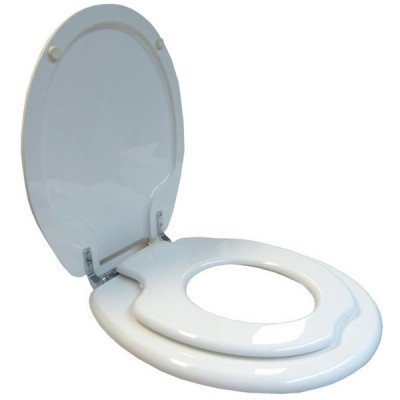 Haron Child Training Toilet Seat Magnetic White TS8400FS