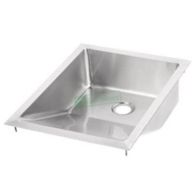 Inset Drop In Baby Bath 304 Stainless Steel 50mm Outlet M-BB-1-C