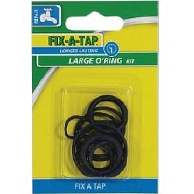 Large O-Ring Kit (Pk 10) Fixatap 206312