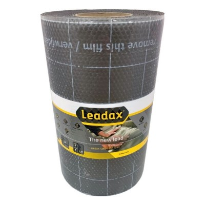 Leadax 300mm X 6m Grey Roof Flashing