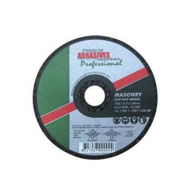 Masonry Cutting Wheel 100mm X 2.5 X 16