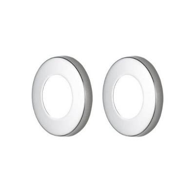 Master Rail Mini Round Cover Plate Chrome MRCP-C