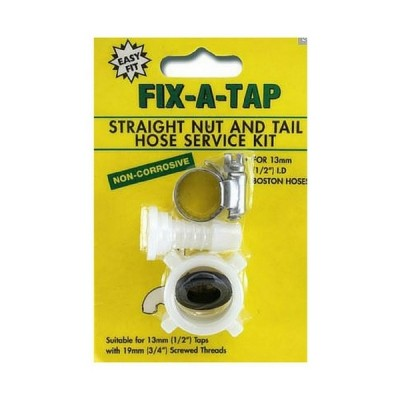 "Nut & Tail Straight Pvc 3/4"" X 1/2"" Fixatap 209238"