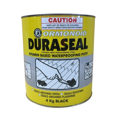 4 Kg Ormonoid Duraseal Water Proofing Putty Black