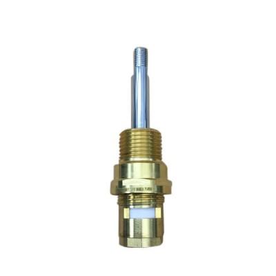 Pacific CD2330L 1/4T Basin Bib Pillar Spindle Ceramic Disc Normal Turn Chrome