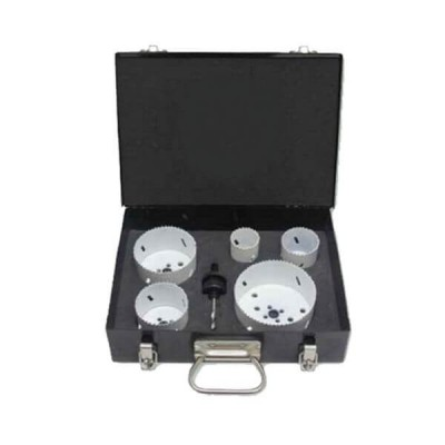 Plumtool Plumbers Hole Saw Kit 6 Piece With Carry Case PTHS568