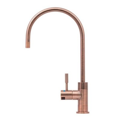 Puretec DFU260 Antique Rose Gold Designer Water Filter Faucet With LED Reminder Light