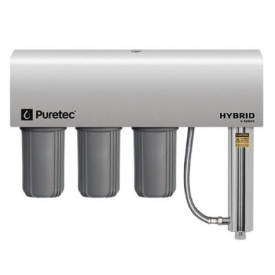 Puretec Hybrid G12 Triple Action Whole House Ultraviolet Water Filter System