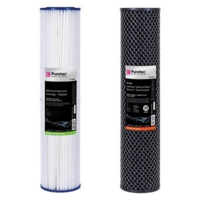 Puretec Hybrid G7 & R2 Dual Filter Cartridge Kit PL05MP2 - DP10MP2 20""