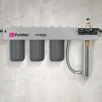 Puretec Hybrid R10 Triple Action Whole House Ultraviolet Water Filter System