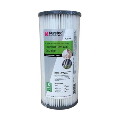 Puretec PL05MP1 Pleated Sediment Water Filter Cartridge