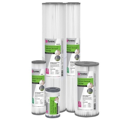 Puretec PL20MP2 Pleated Sediment Water Filter Cartridge