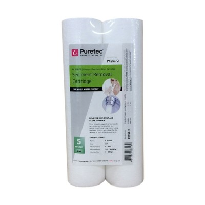 Puretec PX051-2 Polyspun Sediment Water Filter Cartridge