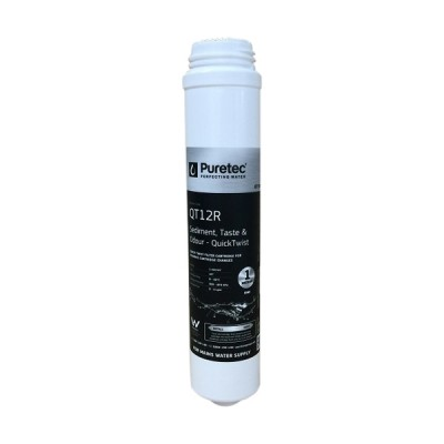 Puretec QT12R Quick Twist Replacement Water Filter Cartridge