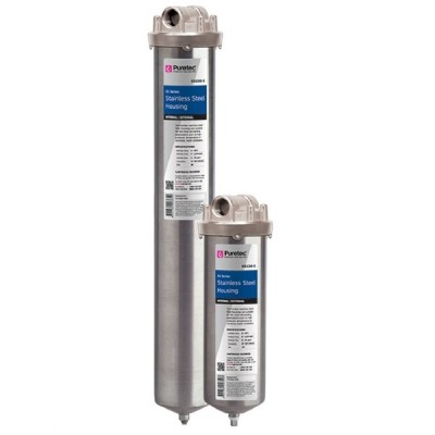 Puretec SS220S Water Filter Housing Stainless Steel Bowl