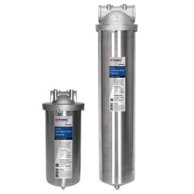 Puretec SS25MP1 Water Filter Housing MaxiPlus Stainless Steel Bowl