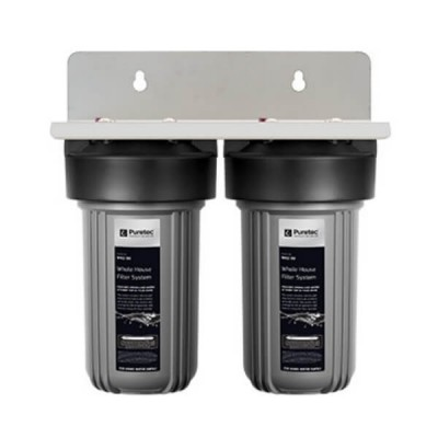 "Puretec WH2-35 Dual 10"" Whole House Water Filter"