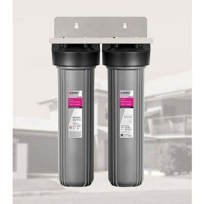 Puretec WH2-60 Whole House MaxiPlus Dual Water Filter System