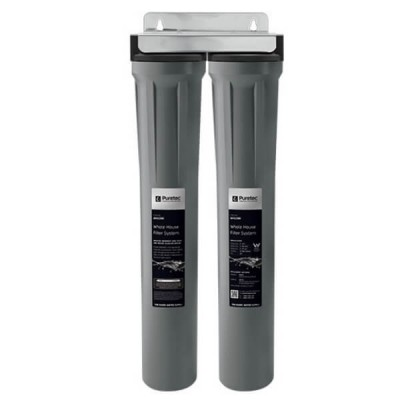 Puretec WH2200 Slimline Whole House Dual Water Filter System