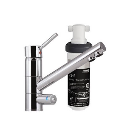 Puretec Z1-T1 Tripla Water Filter Kit Undersink With 3 Way LED Mixer Tap