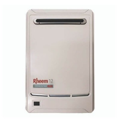 Rheem 12 Litre NATURAL GAS 50°C Continuous Flow Hot Water Heater 876812NF