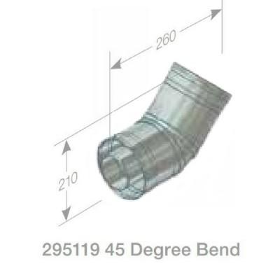 Rheem Flue Bend 45 Degree Model 295119