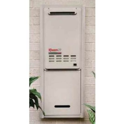 Rheem Recess Box Galvanised Steel Suit 27 Litre Continuous Water Heater 299831