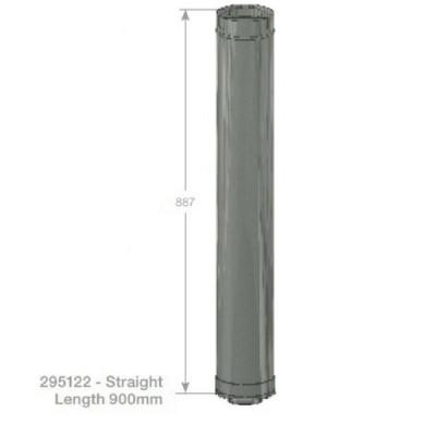 Rheem Straight Flue 900mm Model 295122