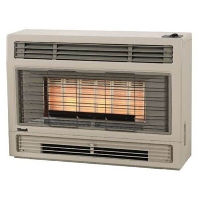 Rinnai 2001 Inbuilt Space Heater Beige NATURAL GAS 2001IN
