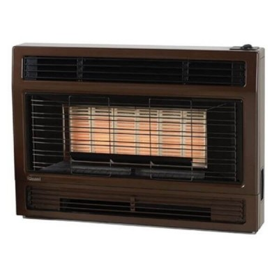 Rinnai 2001 Inbuilt Space Heater Metallic Brown NATURAL GAS 2001IMBN