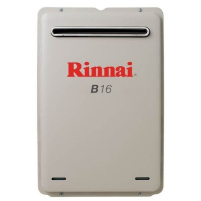 Rinnai B16 Preset 50C LP GAS Builders Series Continuous Flow Hot Water System B16L50A