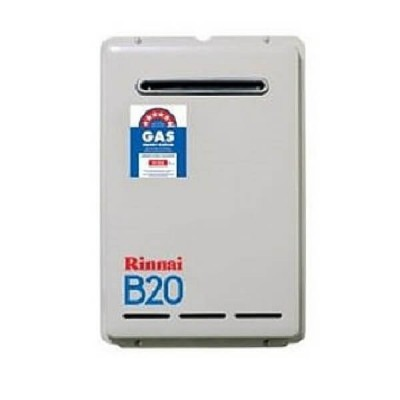 Rinnai B20 Preset 50C LP GAS Builders Series Continuous Flow Hot Water System B20L50A