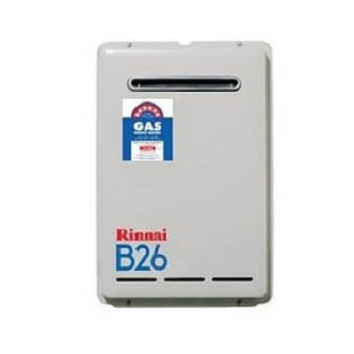 Rinnai B26 Preset 50C LP GAS Builders Series Continuous Flow Hot Water System B26L50A