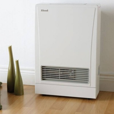 Rinnai Energysaver 309FTN Flued Heater White NATURAL GAS