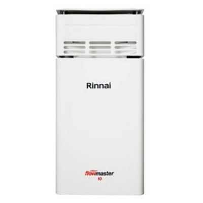 Rinnai Flowmaster 10 NATURAL GAS Instantaneous Hot Water Heater 60C FM10NA