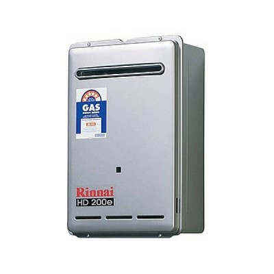 Rinnai HD200E Preset 50C Natural Gas Heavy Duty Continuous Hot Water External HD200N50