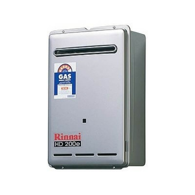 Rinnai HD200E Preset 75C LP GAS Heavy Duty Continuous Hot Water External HD200L75