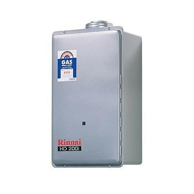 Rinnai HD200I Preset 50C Natural Gas Internal Heavy Duty Continuous Hot Water System HD200IN50