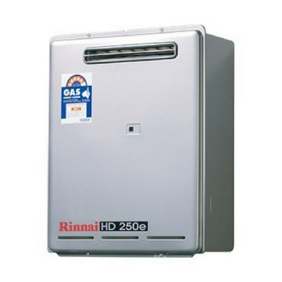 Rinnai HD250E Preset 50C Natural Gas Heavy Duty Continuous Hot Water External HD250N50