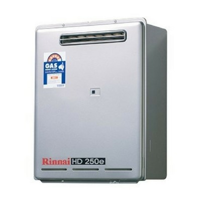 Rinnai HD250E 75C Heavy Duty Hot Water External Lp Gas HD250L75