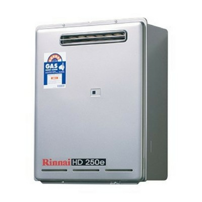 Rinnai HD250E 75C Heavy Duty Hot Water External Nat Gas HD250N75