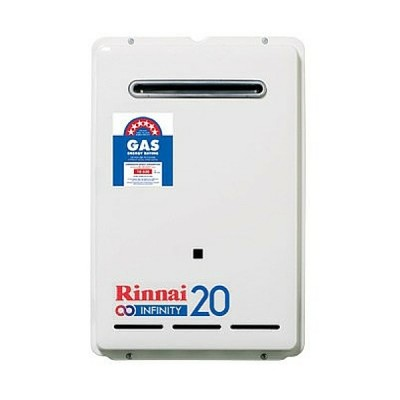 Rinnai Infinity 20 Preset 60C Natural Gas Continuous Hot Water System INF20N60M